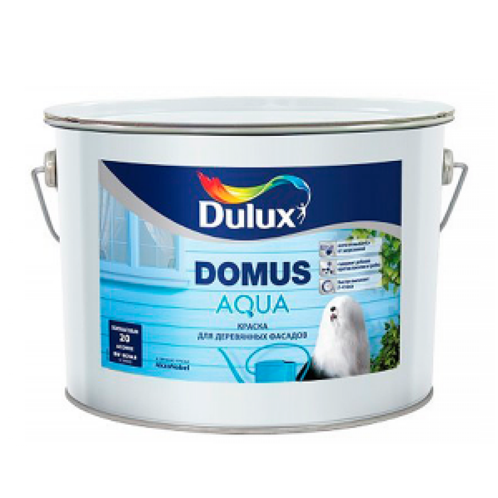 Dulux Domus Aqua / Дулюкс Домус Аква краска на водной основе для деревянных фасадов