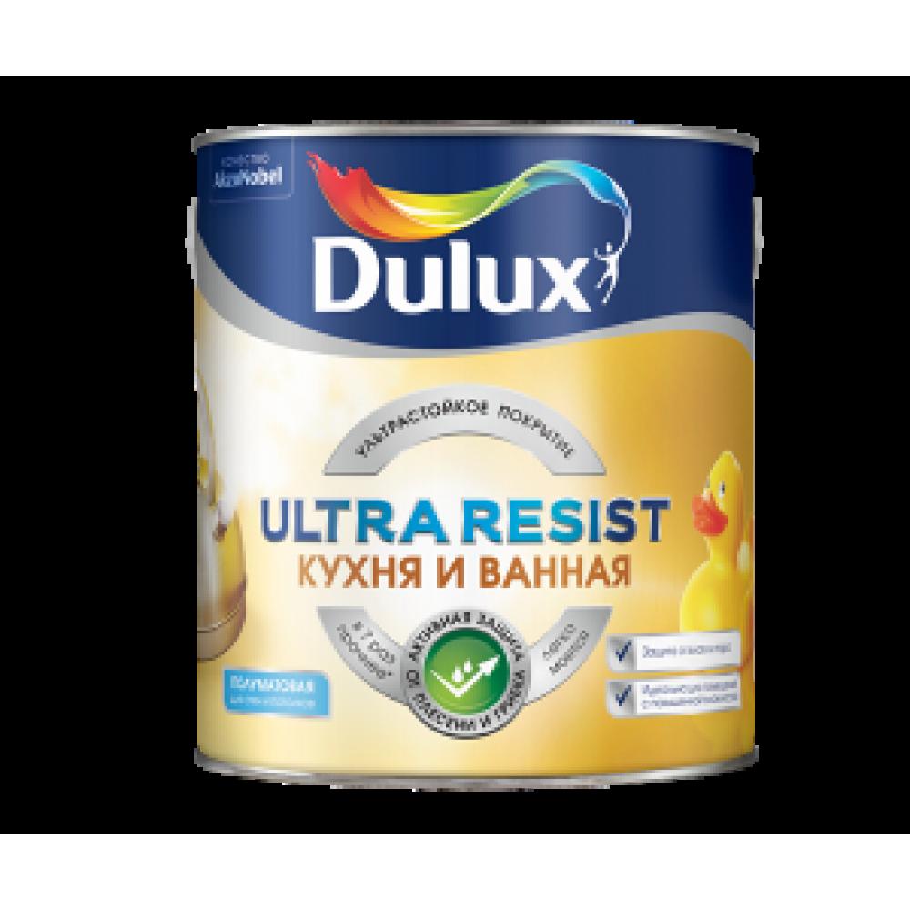 Dulux Ultra Resist / Дулюкс Кухня и Ванная матовая краска для влажных помещений